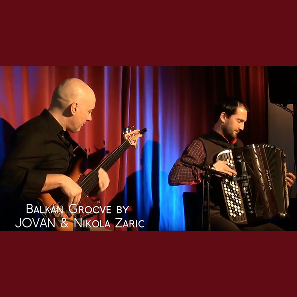 Balkan Groove Mix, Jovan Torbica and Nikola Zaric, Live at Cafe Mocca Lounge, Vienna - Saturday, 11-02-2017